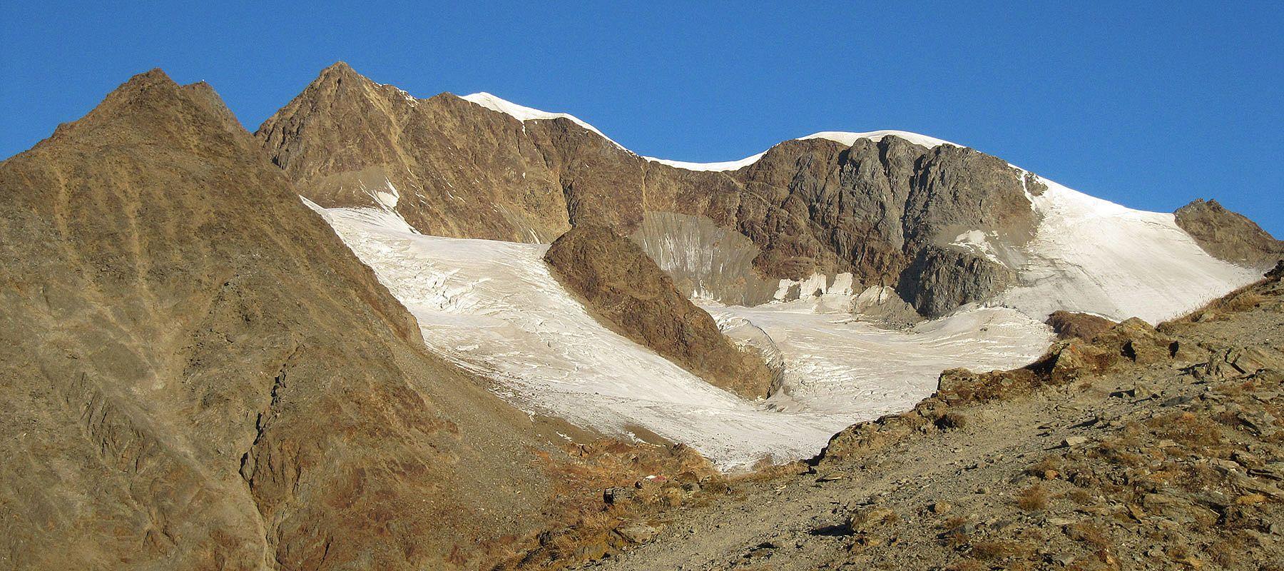 Bergführer Vent im Sommer