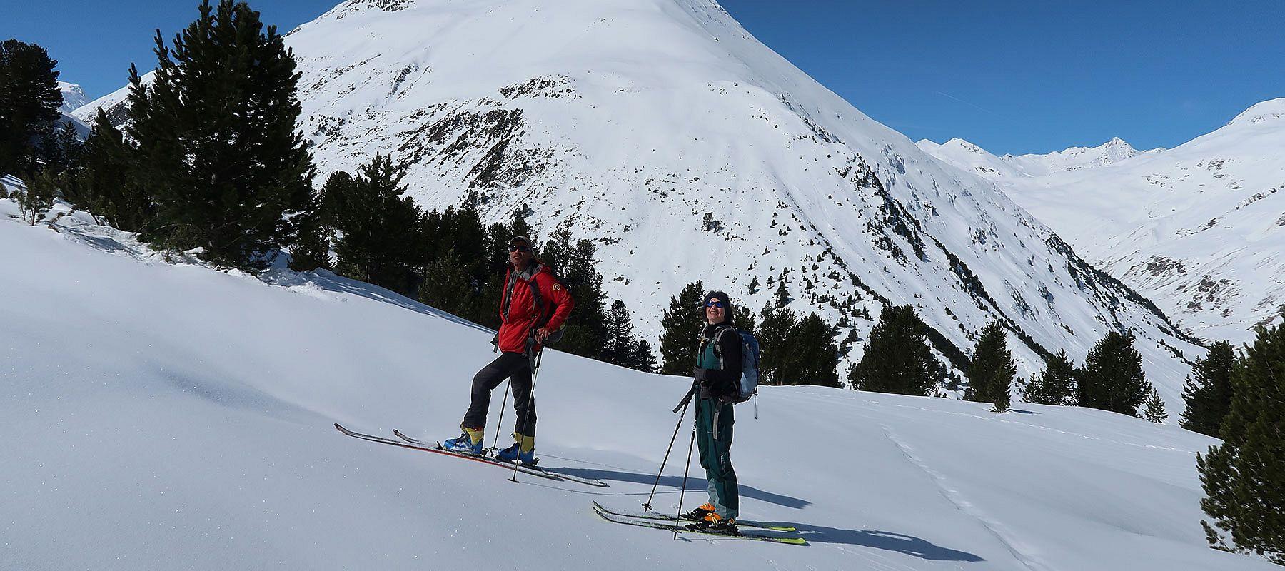 Bergführer Vent im Winter